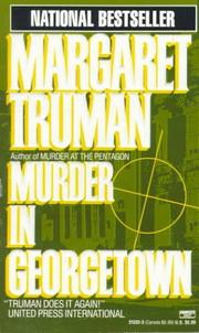 Cover of: Murder in Georgetown (Capital Crime Mysteries)