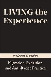 Cover of: Living the Experience | MacDonald E. Ighodaro