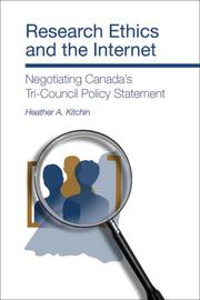 Cover of: Research Ethics and the Internet | Heather A. Kitchin