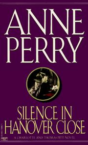 Cover of: silence in Hanover Close