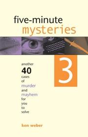 Cover of: Five-Minute Mysteries 3