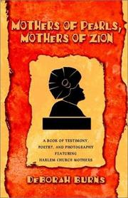 Cover of: Mothers of Pearls, Mothers of Zion | Deborah Burns