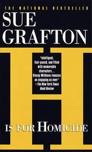 Cover of: H Is for Homicide (Kinsey Millhone Mysteries) | Sue Grafton