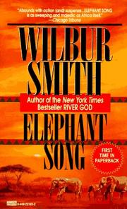 Cover of: Elephant Song