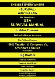 Cover of: USA Survival Manual | Robert Joffre - Mr. Freedom