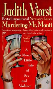 Cover of: Murdering Mr. Monti: a merry little tale of sex and violence