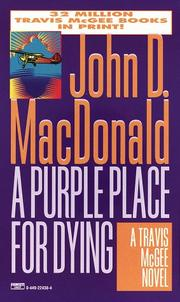 Cover of: A Purple Place for Dying