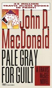 Cover of: Pale Gray for Guilt (Travis McGee Mysteries) | John D. Macdonald