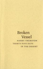Cover of: Broken vessel: Thirty-five Days in the Desert