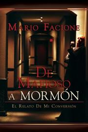 Cover of: de Mafioso a Mormon
