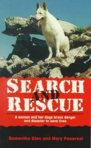 Cover of: Search and rescue