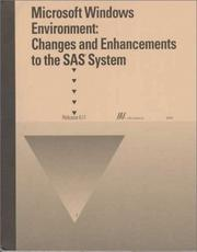 Cover of: Microsoft Windows Environment | SAS Institute