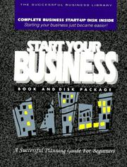 Cover of: Start Your Business | Vickie Reierson