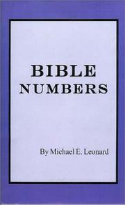 Cover of: Bible Numbers