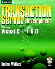 Cover of: Learn Microsoft Transaction Server Development Using Visual C++ 6.0 | Nathan Wallace