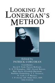 Cover of: Looking at Lonergan's Method