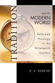 Cover of: Tradition and the Modern World