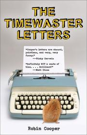 Cover of: The Timewaster Letters | Robin Cooper