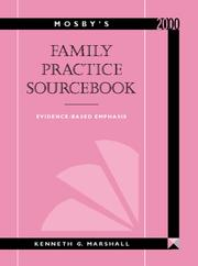 Cover of: Mosby's Family Practice Sourcebook | Kenneth G., Md. Marshall