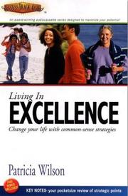Cover of: Living in Excellence