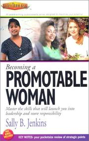 Cover of: Becoming a Promotable Woman