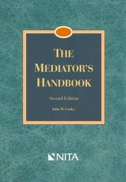 Cover of: The Mediator's Handbook