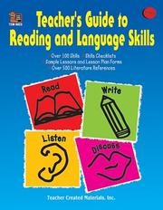 Cover of: Teacher's Guide to Reading and Language Skills