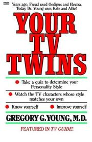 Cover of: Your TV Twins | Gregory Md Young