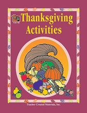 Cover of: Thanksgiving Activities
