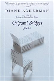 Cover of: Origami Bridges | Diane Ackerman