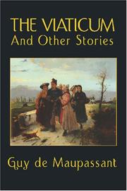 Cover of: The Viaticum and Other Stories