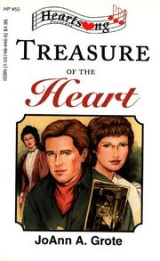 Cover of: Treasure of the Heart (Heartsong Presents #55)