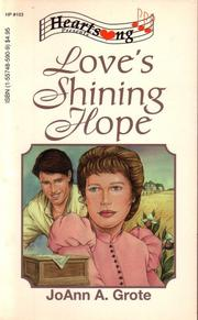 Cover of: Love's Shining Hope (Heartsong Presents #103)