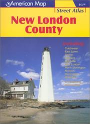 Cover of: New London County Street Atlas | Arrow Map Inc.