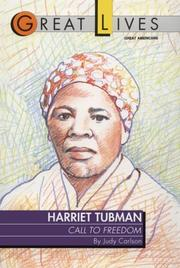 Cover of: Harriet Tubman | Judy Carlson