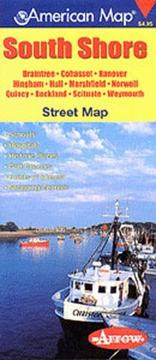 Cover of: South Shore Ma Pocket Map | Arrow Map Incorporation