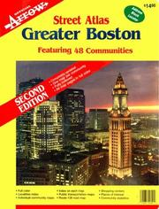 Cover of: Greater Boston Atlas (Paper) | Arrow Map Inc.