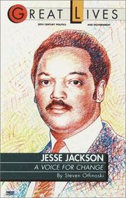 Cover of: Jesse Jackson: a voice for change