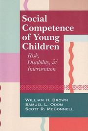 Cover of: Social competence of young children