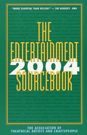 Cover of: The Entertainment Sourcebook