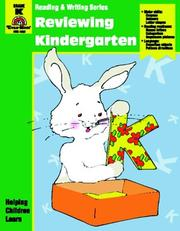 Cover of: Reviewing kindergarten | Jo Ellen Moore