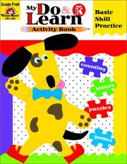 Cover of: My Do and Learn Book, Prekindergarten (My Do and Learn Activity Book) | Jill Norris