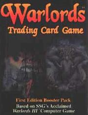 Cover of: Warlords TCG Booster Pack (#692)