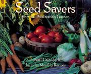 Cover of: Seed Savers from the Preservation Garden 2001 Calendar