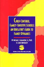 Cover of: Childcentered, Family Sensitive Schools