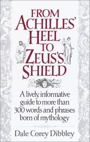 Cover of: From Achilles' heel to Zeus's shield