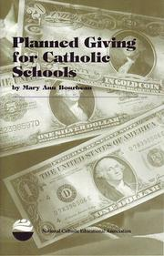 Cover of: Planned Giving for Catholic Schools