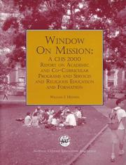 Cover of: Window on Mission | William J. Hudson
