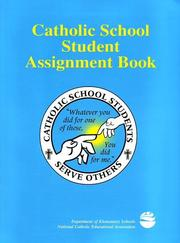 Cover of: Catholic School Student Assignment Book (Wire-O-Bind) |