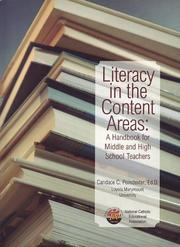 Cover of: Literacy in the Content Areas